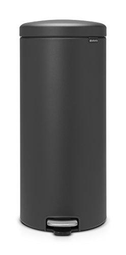 Brabantia newIcon Treteimer 30 L Sense of Luxury, Edelstahl, mineral infinite grau, 30 Liter