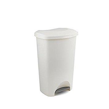 Addis Kunststoff 50L Treteimer weiß