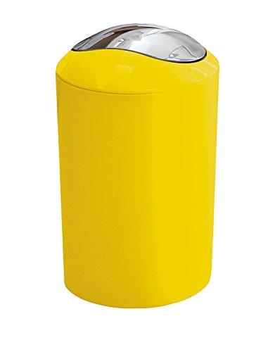 Kleine Wolke 5063567858 Kosmetikeimer Glossy, Volumen 5 L, gelb