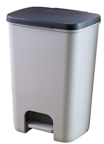 CURVER Essentials Treteimer, 20l, Kunststoff, 30,3x29,4x42,8cm, 225360