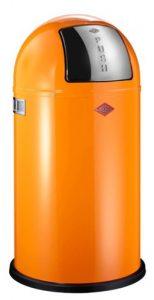 Tretmülleimer in orange
