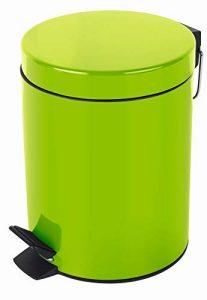 Grüner Abfalleimer
